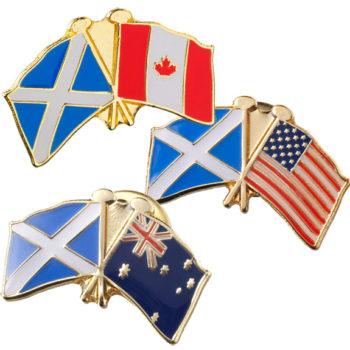 Pins con Banderas