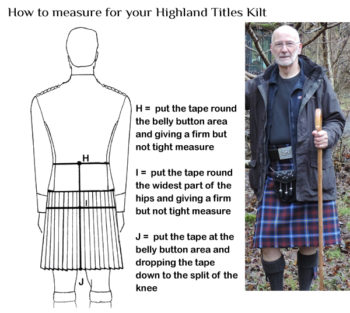 Kilt tradicional