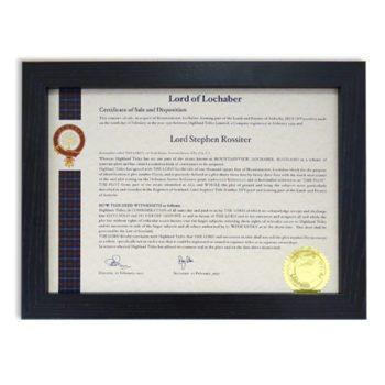 Marco de Madera para Certificado