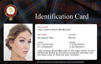 Tarjeta de identificación con foto