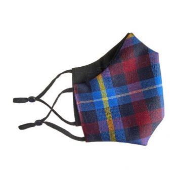 Mascarilla en tartán Highland Titles